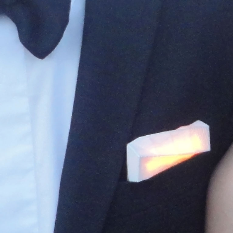 LED Lapel